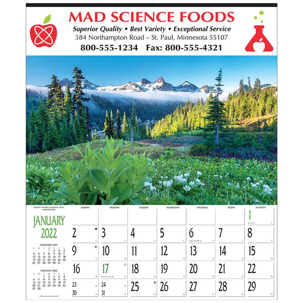 Custom Imprinted Calendar Panorama