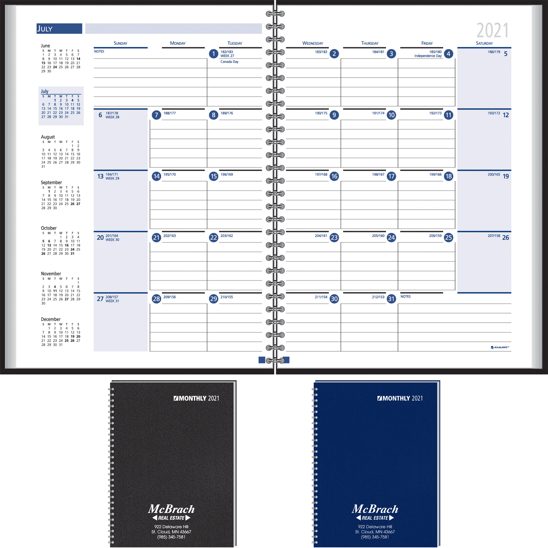 Custom Imprinted Pocket Planner