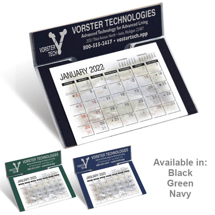 Custom Imprinted Desk Calendar