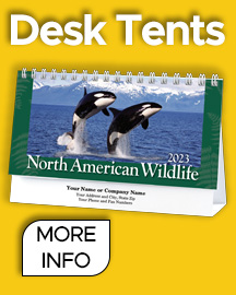Great promotional calendars for your customers
